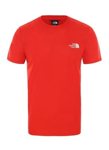 The North Face Erkek Reaxıon Red Box Tişört Nf0A4Cdw15Q1 Kırmızı